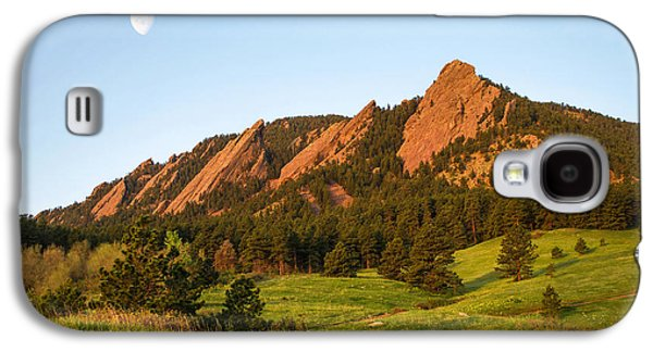 The Flatirons - Spring Galaxy S4 Case by Aaron Spong