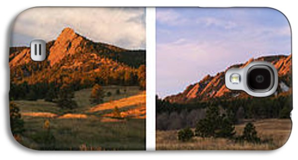 The Flatirons - Four Seasons Panorama Galaxy S4 Case