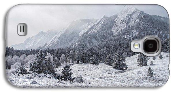 The Flatirons - Winter Galaxy S4 Case