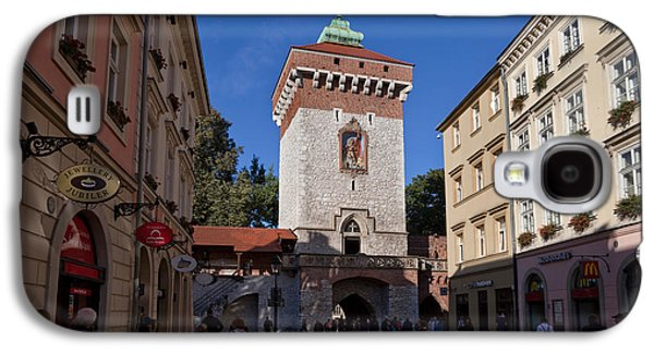 The Florianska Gate, Krakow, Poland Galaxy S4 Case by Panoramic Images