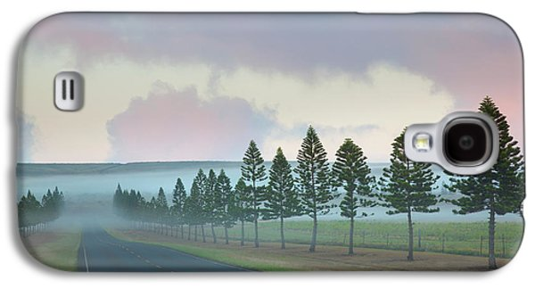 The Foggy Tree-lined Manele Road Galaxy S4 Case