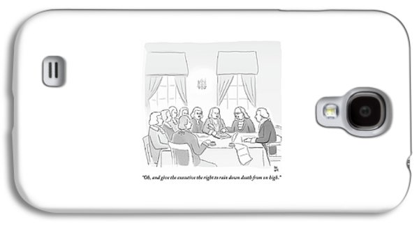 The Founding Fathers Drafting The Constitution Galaxy S4 Case by Paul Noth