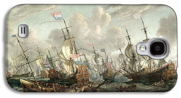 The Four Days Battle, June 1666 Galaxy S4 Case by Abraham Storck