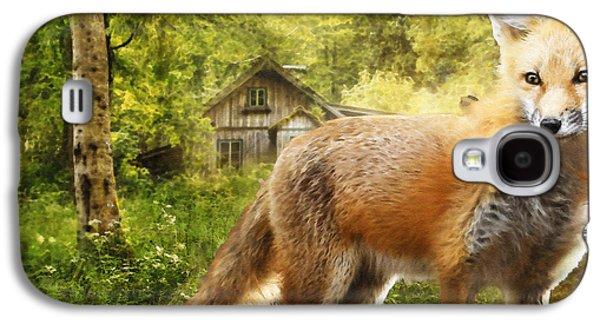 The Fox Galaxy S4 Case