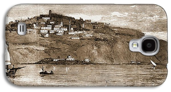 The French Occupation Of Tunis, 1881 The Village Of Saudi Galaxy S4 Case