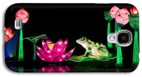 The Frog And Lotus Galaxy S4 Case by Tim Gainey