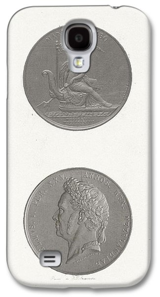 The Front And Back Of A Coin To Commemorate The 25th Galaxy S4 Case