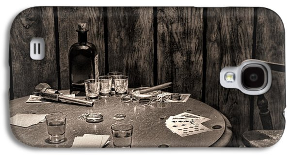 The Gambling Table Galaxy S4 Case by Olivier Le Queinec