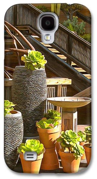 The Garden Gallery Morro Bay California Galaxy S4 Case by Barbara Snyder