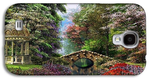 The Garden Of Peace Galaxy S4 Case by Dominic Davison