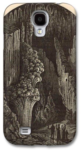 The Geyser 1872 Engraving Galaxy S4 Case