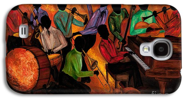 Drum Galaxy S4 Case - The Gitdown Hoedown by Larry Martin