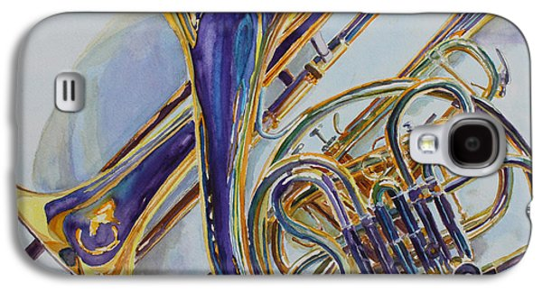 Trombone Galaxy S4 Case - The Glow Of Brass by Jenny Armitage