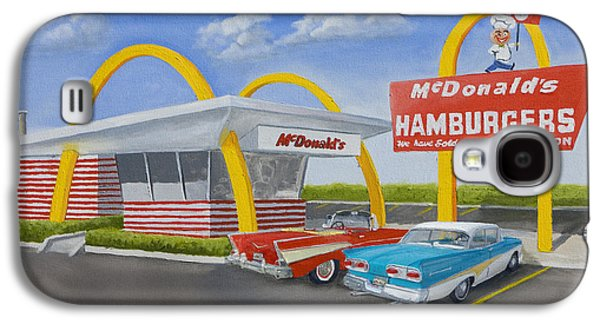 The Golden Age Of The Golden Arches Galaxy S4 Case