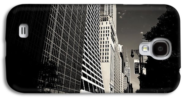 The Grace Building And The Chrysler Building - New York City Galaxy S4 Case by Vivienne Gucwa