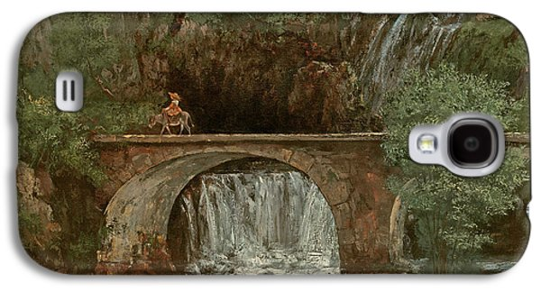 The Great Bridge, 1864 Galaxy S4 Case by Gustave Courbet