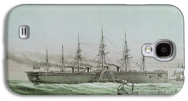 The Great Eastern Laying Electrical Cable Between Europe And America Galaxy S4 Case by Louis Le Breton