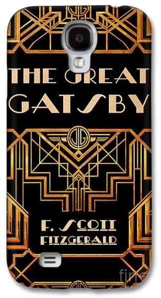 The Great Gatsby Book Cover Movie Poster Art 3 Galaxy S4 Case