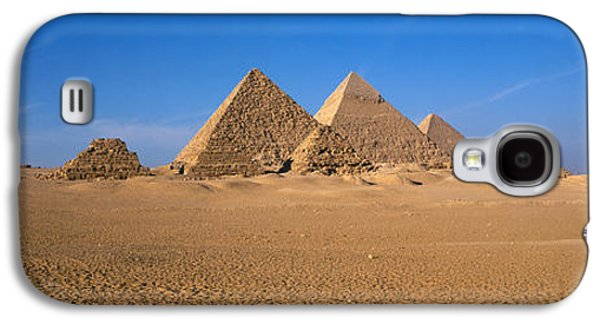 The Great Pyramids Giza Egypt Galaxy S4 Case by Panoramic Images