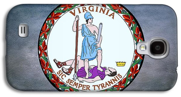 The Great Seal Of The State Of Virginia  Galaxy S4 Case