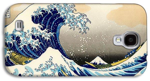 The Great Wave At Kanagawa Galaxy S4 Case