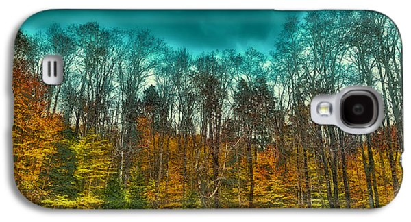 The Green Bridge Road In Autumn Galaxy S4 Case by David Patterson