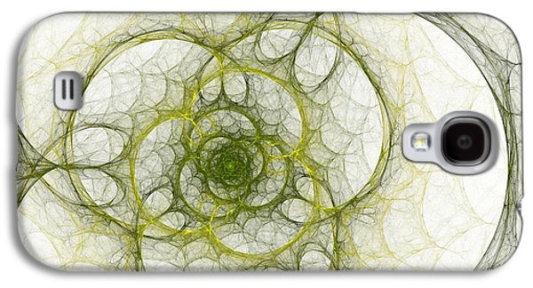 The Green Sphere Galaxy S4 Case by Steve K