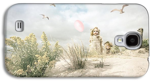 The Greeting Party - Fantasy Art Galaxy S4 Case by Gary Heller