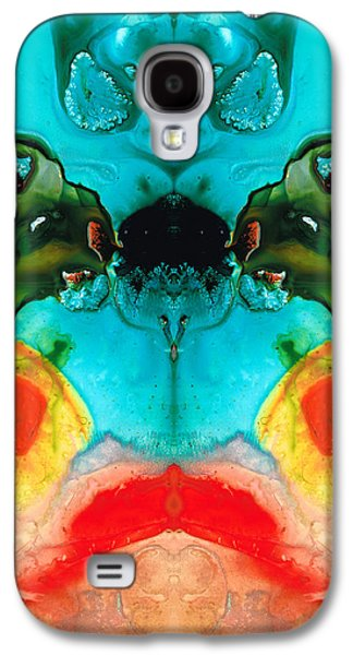 The Guardians - Visionary Art By Sharon Cummings Galaxy S4 Case by Sharon Cummings