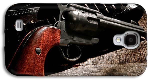 The Gun That Won The West Galaxy S4 Case by Olivier Le Queinec
