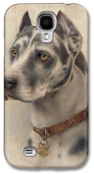 The Head Of A Doberman Galaxy S4 Case