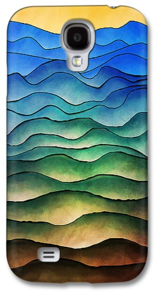 The Hills Are Alive Galaxy S4 Case by Brenda Bryant