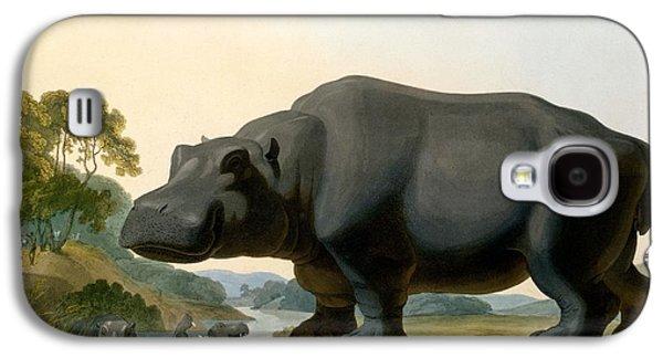 The Hippopotamus, 1804 Galaxy S4 Case by Samuel Daniell