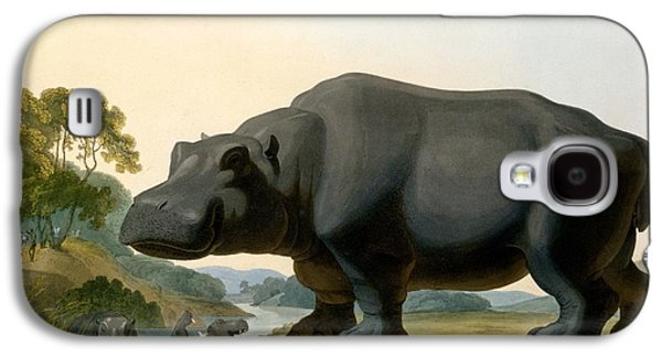The Hippopotamus, 1804 Galaxy S4 Case by Samuel Daniell