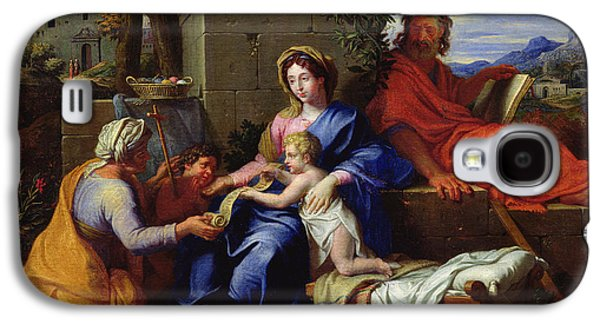 The Holy Family Galaxy S4 Case by Louis Licherie de Beuron