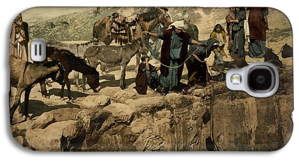 The Holy Land Circa 1890 Galaxy S4 Case by Aged Pixel