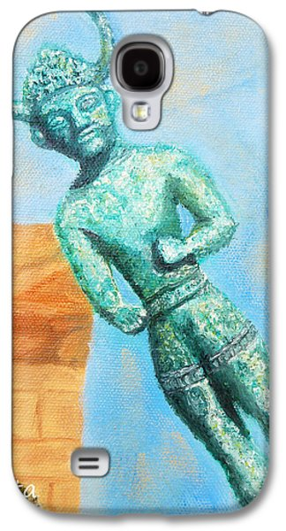 The Horned God From Egkomi .  Galaxy S4 Case by Augusta Stylianou