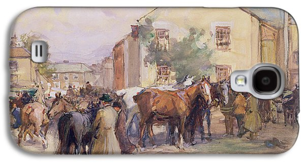 The Horse Fair  Galaxy S4 Case by John Atkinson
