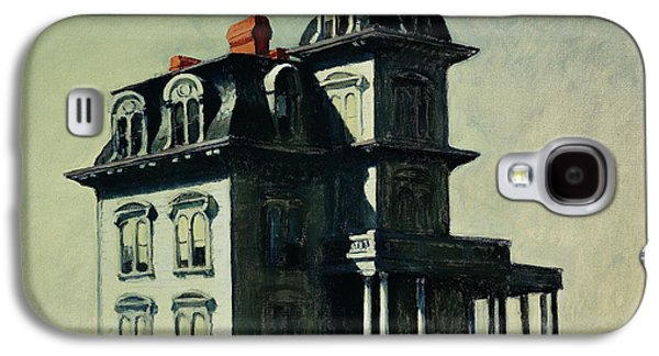 The House By The Railroad Galaxy S4 Case by Edward Hopper