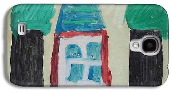 The House With No Door-age 5 Galaxy S4 Case by MIchael Kelly