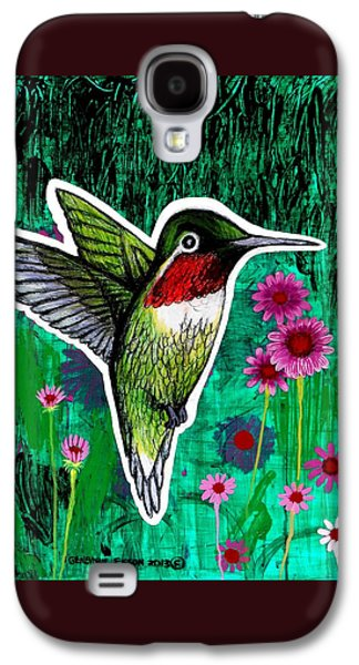 The Hummingbird Galaxy S4 Case by Genevieve Esson