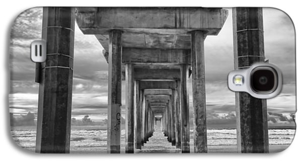 The Iconic Scripps Pier Galaxy S4 Case by Larry Marshall