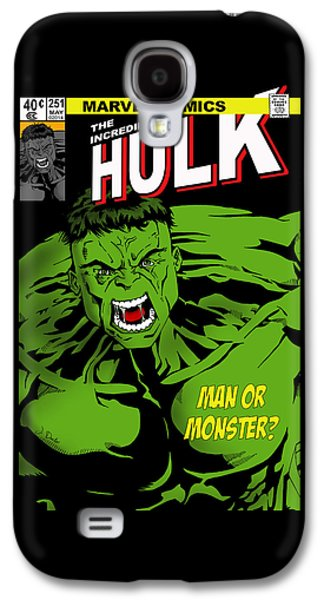 The Incredible Hulk Galaxy S4 Case