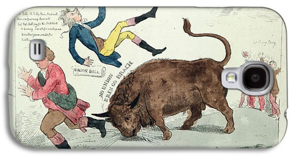 The Irish Bull Broke Loose, Cruikshank, Isaac Galaxy S4 Case