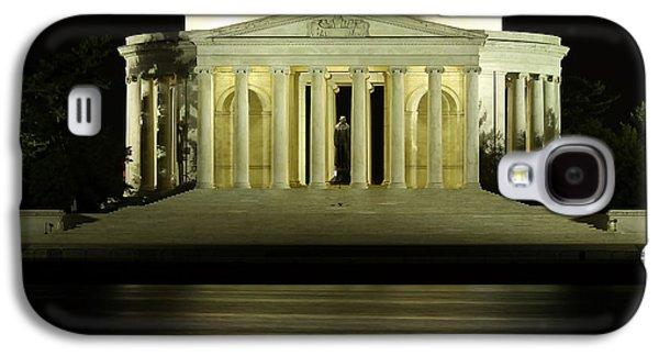 Jefferson Memorial Galaxy S4 Case - The Jefferson Memorial by Kim Hojnacki