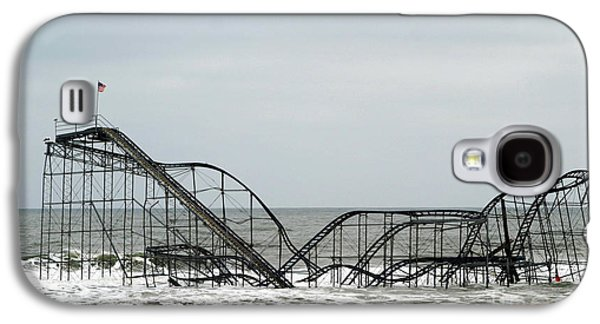 The Jetstar Rollercoaster In Seaside Heights Nj Galaxy S4 Case by Living Color Photography Lorraine Lynch