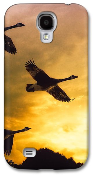 Geese Galaxy S4 Case - The Journey South by Bob Orsillo