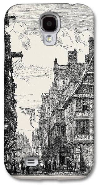 The Judengasse At Frankfort-on-the-main Galaxy S4 Case