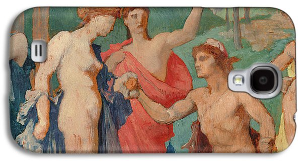 The Judgement Of Paris Galaxy S4 Case by Jules Elie Delaunay