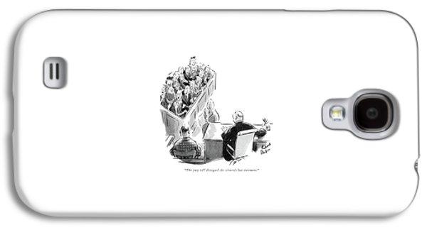 The Jury Will Disregard The Witness's Last Galaxy S4 Case by Richard Decker